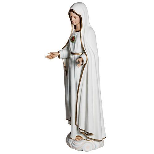 Nossa Senhora de Fátima 120 cm fibra de vidro 7