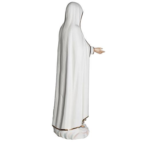 Nossa Senhora de Fátima 120 cm fibra de vidro 12