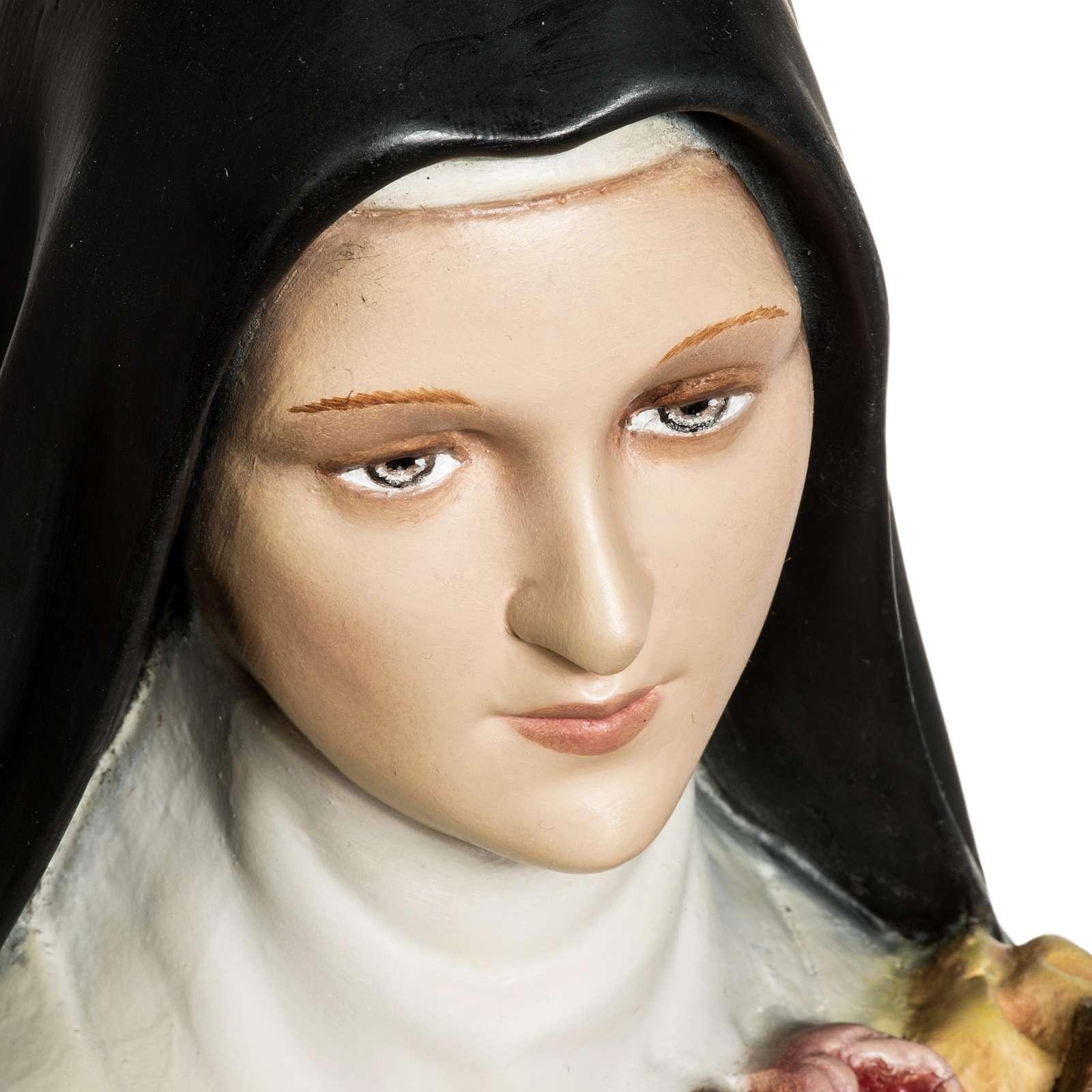 Santa Teresa di Lisieux 80 cm fiberglass 4