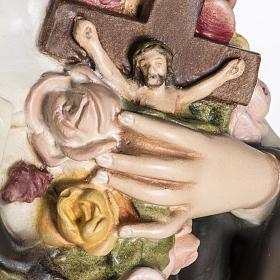 Santa Teresa di Lisieux 80 cm fiberglass s4