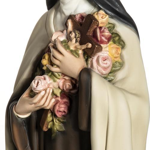 Santa Teresa di Lisieux 80 cm fiberglass 7