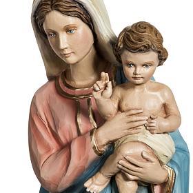 Madonna con Bambino 60 cm vetroresina s2