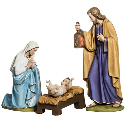 Holy Family fiberglass statues 60 cm 1