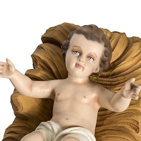 Holy Family fiberglass statues 60 cm s4