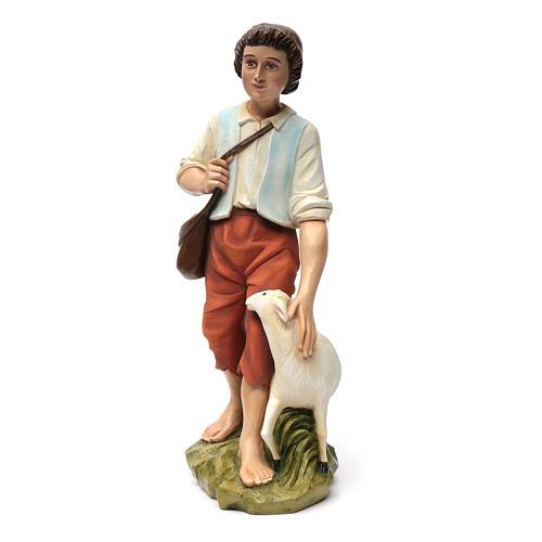 Fiberglas Schäfer mit Schaf 60 cm 8