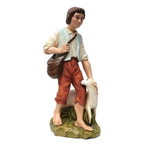 Fiberglas Schäfer mit Schaf 60 cm 11