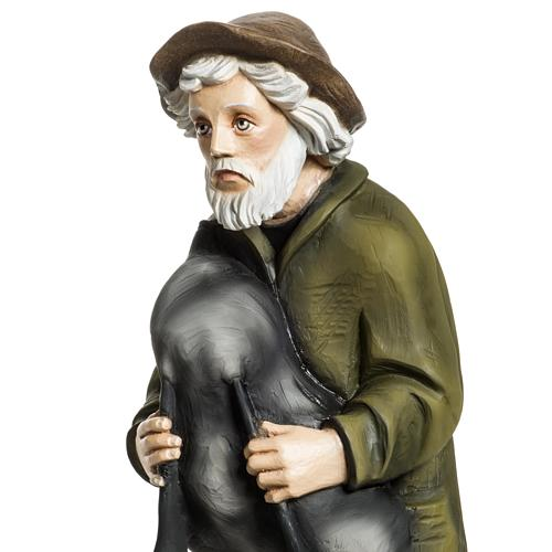 Fiberglas Dudelsackspieler 60 cm 3