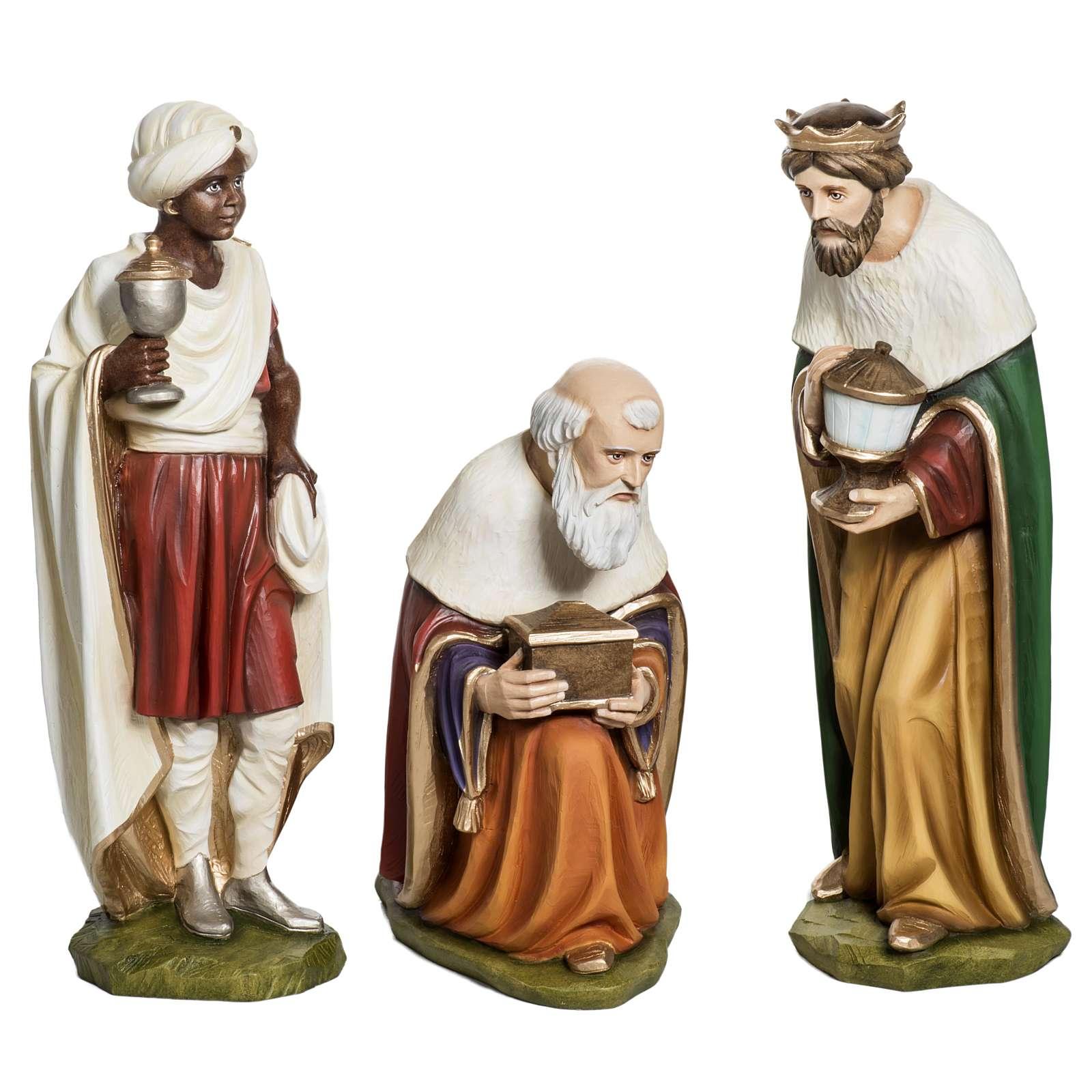 Fiberglas Heilige drei Könige 60 cm 4