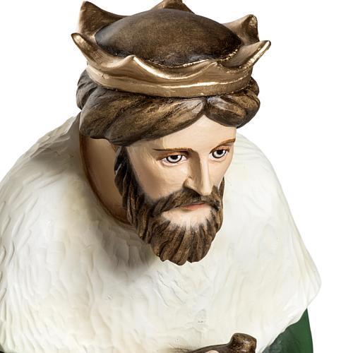Los Tres Reyes Magos 60 cm en fibra de vidrio 3