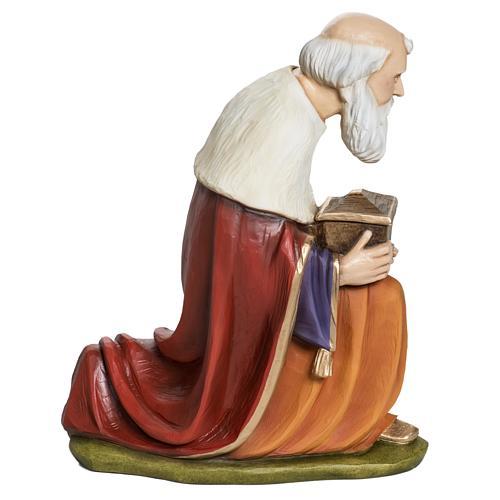 Los Tres Reyes Magos 60 cm en fibra de vidrio 8