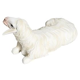 Moutons crèche Noel 60 cm, lot 2 pcs s3