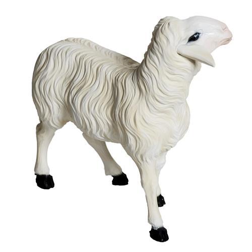 Moutons crèche Noel 60 cm, lot 2 pcs 2