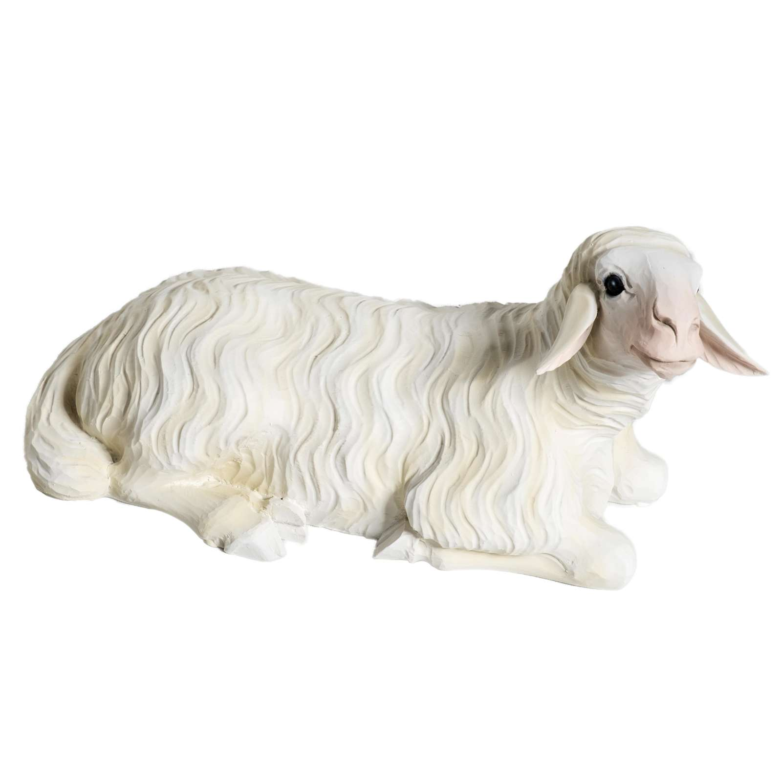 Due Pecore presepe 60 cm 4