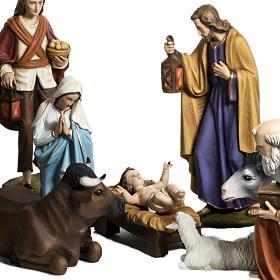 Nativity scene fiberglass figurines 60 cm s2