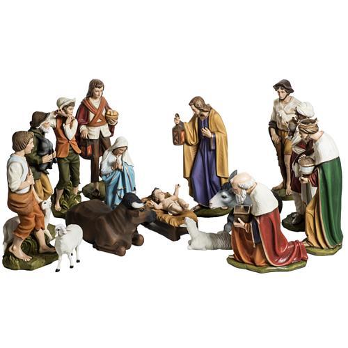 Nativity scene fiberglass figurines 60 cm 1