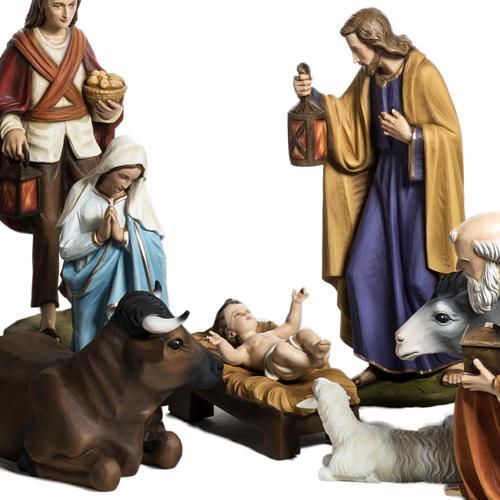 Nativity scene fiberglass figurines 60 cm 2