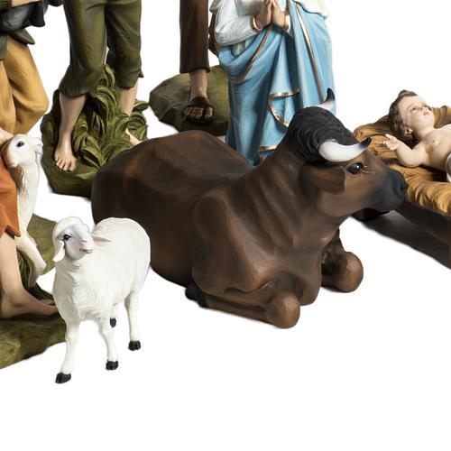 Nativity scene fiberglass figurines 60 cm 4