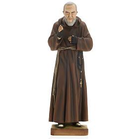 Padre Pio vetroresina 60 cm s1