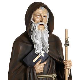 Statua Sant'Antonio Abate vetroresina 160 cm s5