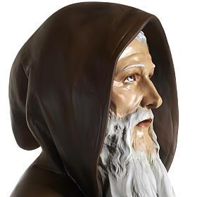 Statua Sant'Antonio Abate vetroresina 160 cm s6