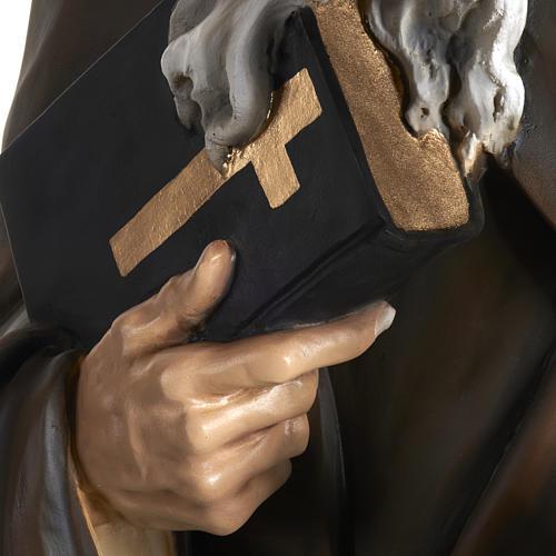 Statua Sant'Antonio Abate vetroresina 160 cm 9