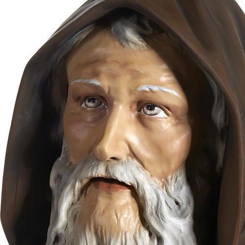 Statua Sant'Antonio Abate vetroresina 160 cm 10