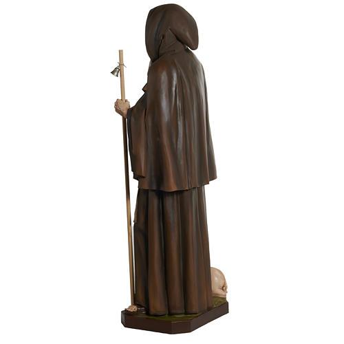 Statua Sant'Antonio Abate vetroresina 160 cm 11