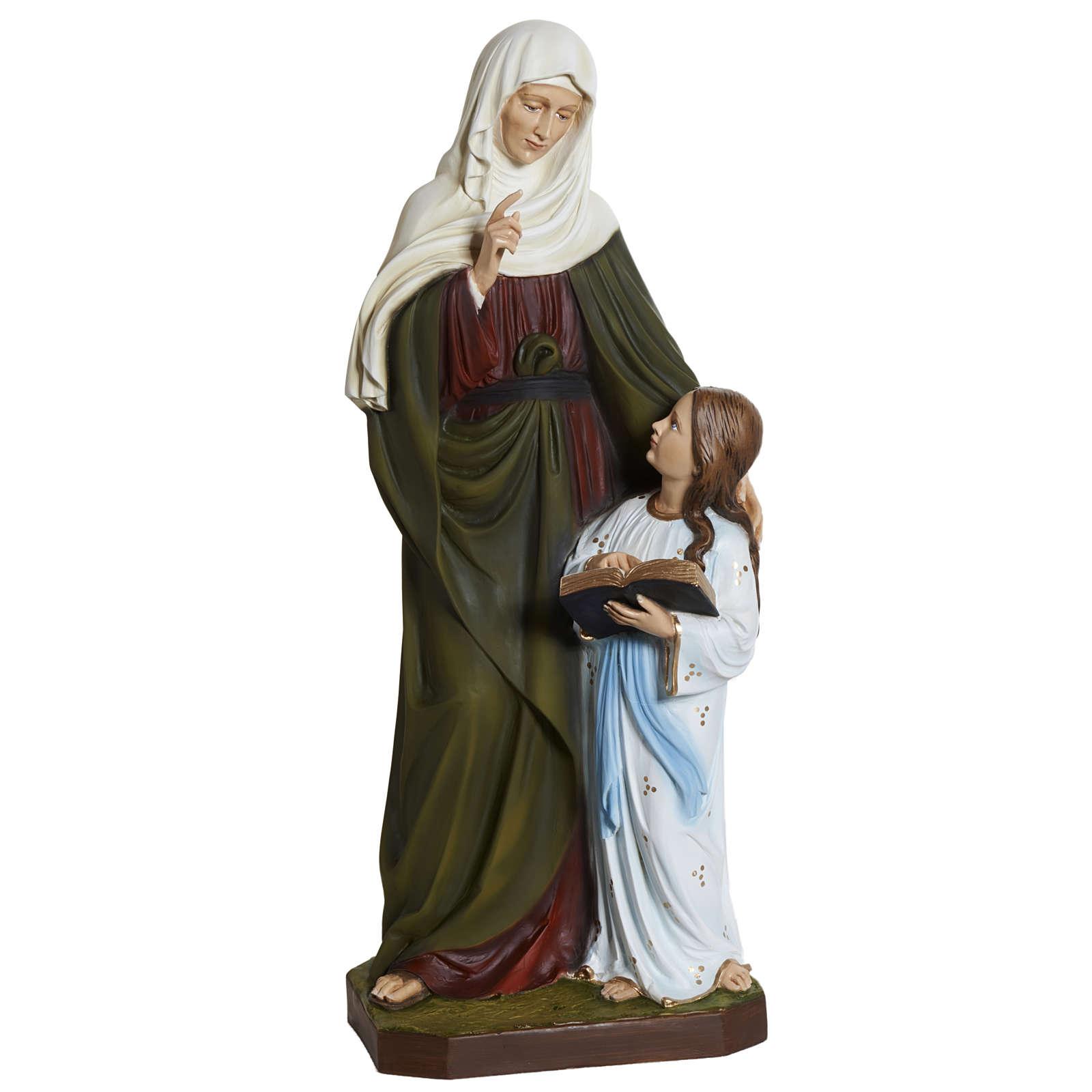 Estatua Santa Ana 80 cm  fibra de vidrio 4