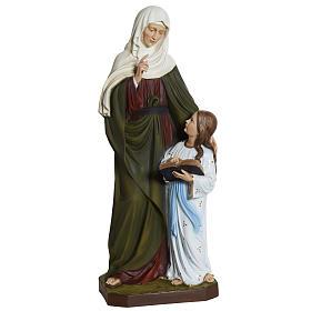 Estatua Santa Ana 80 cm  fibra de vidrio s1