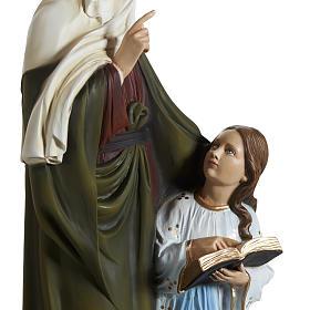 Estatua Santa Ana 80 cm  fibra de vidrio s8