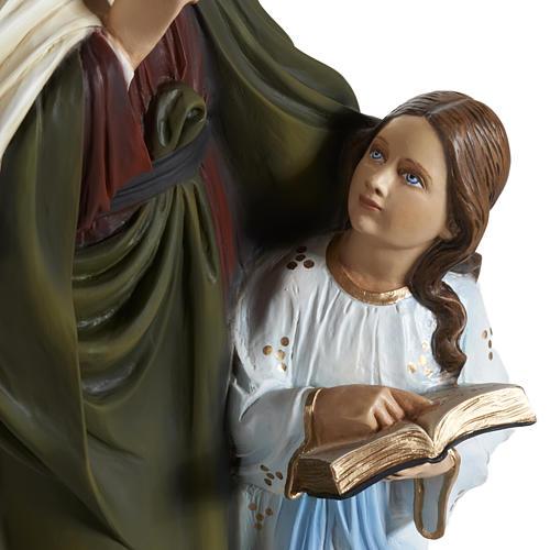 Estatua Santa Ana 80 cm  fibra de vidrio 2