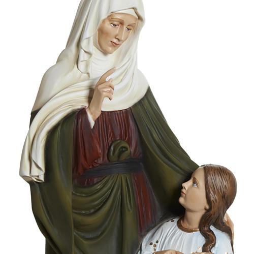 Estatua Santa Ana 80 cm  fibra de vidrio 7