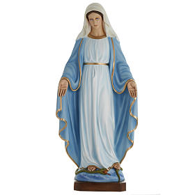 Our Lady Immaculate statue in fiberglass, 100 cm s1