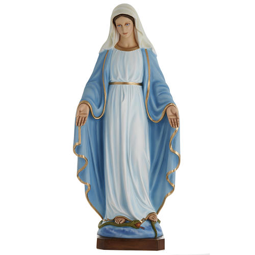 Our Lady Immaculate statue in fiberglass, 100 cm 1