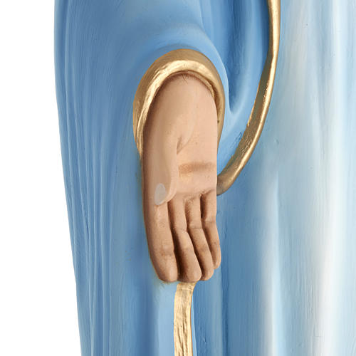 Our Lady Immaculate statue in fiberglass, 100 cm 5