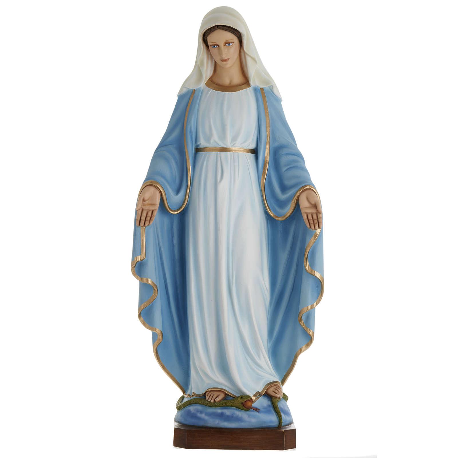 Statue Vierge Immaculée fibre de verre 100 cm 4