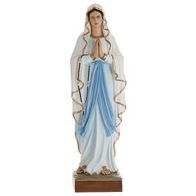 Statue Notre-Dame de Lourdes fibre de verre 100 cm s1