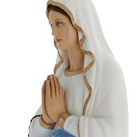 Our Lady of Lourdes fiberglass statue 100 cm s5
