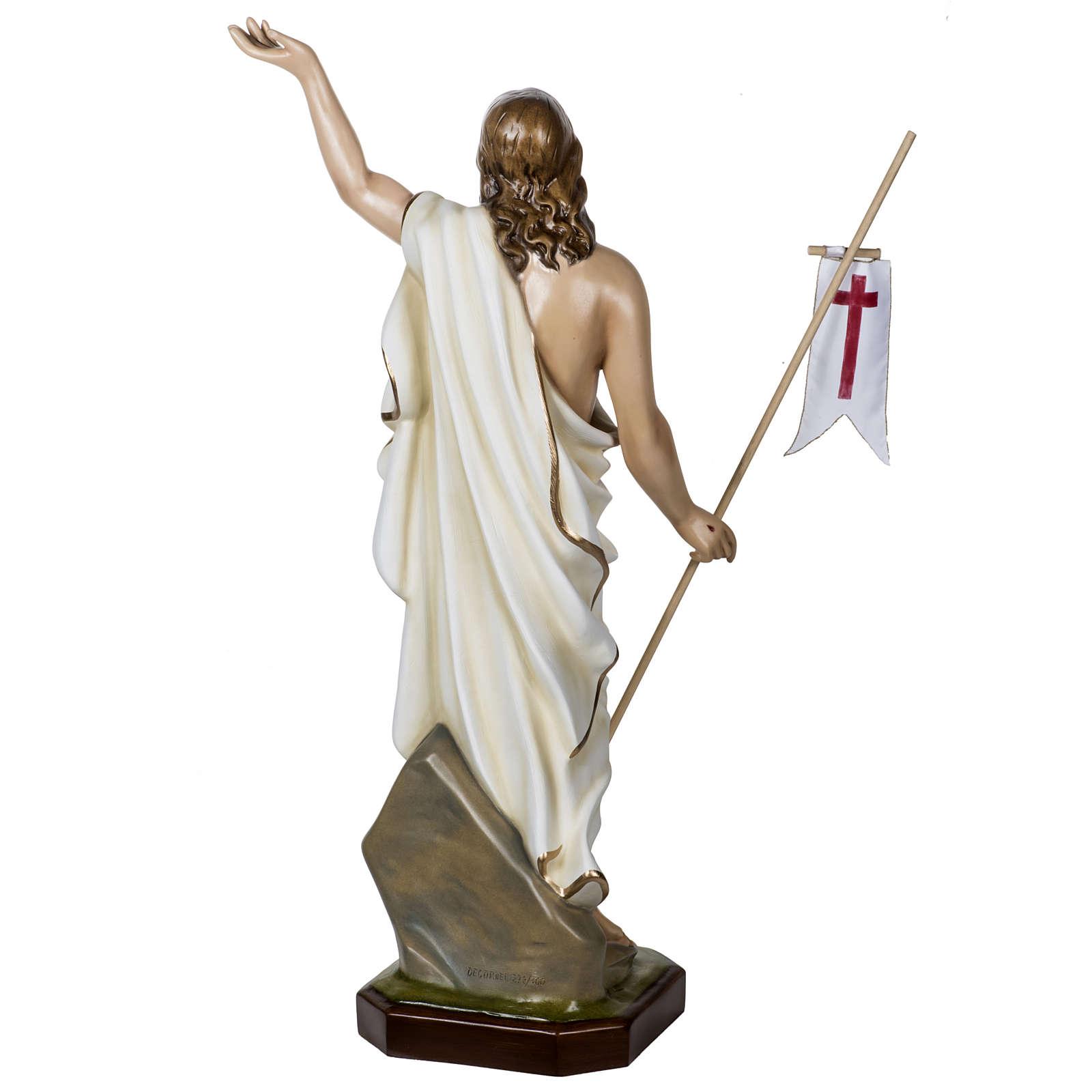 Jesús Resucitado 100 cm fibra de vidrio 4