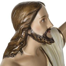 Jesús Resucitado 100 cm fibra de vidrio s12