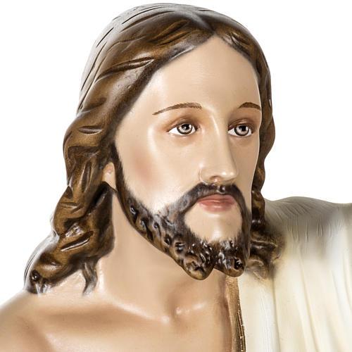 Jesús Resucitado 100 cm fibra de vidrio 2
