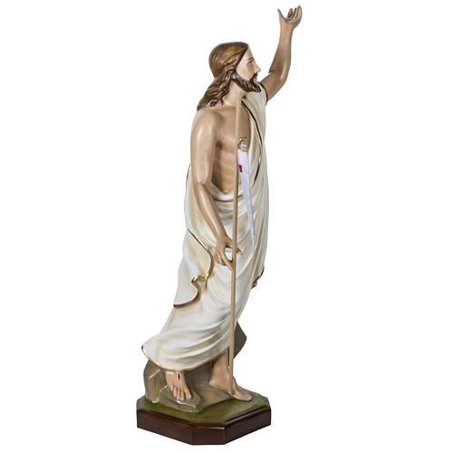 Jesús Resucitado 100 cm fibra de vidrio 11
