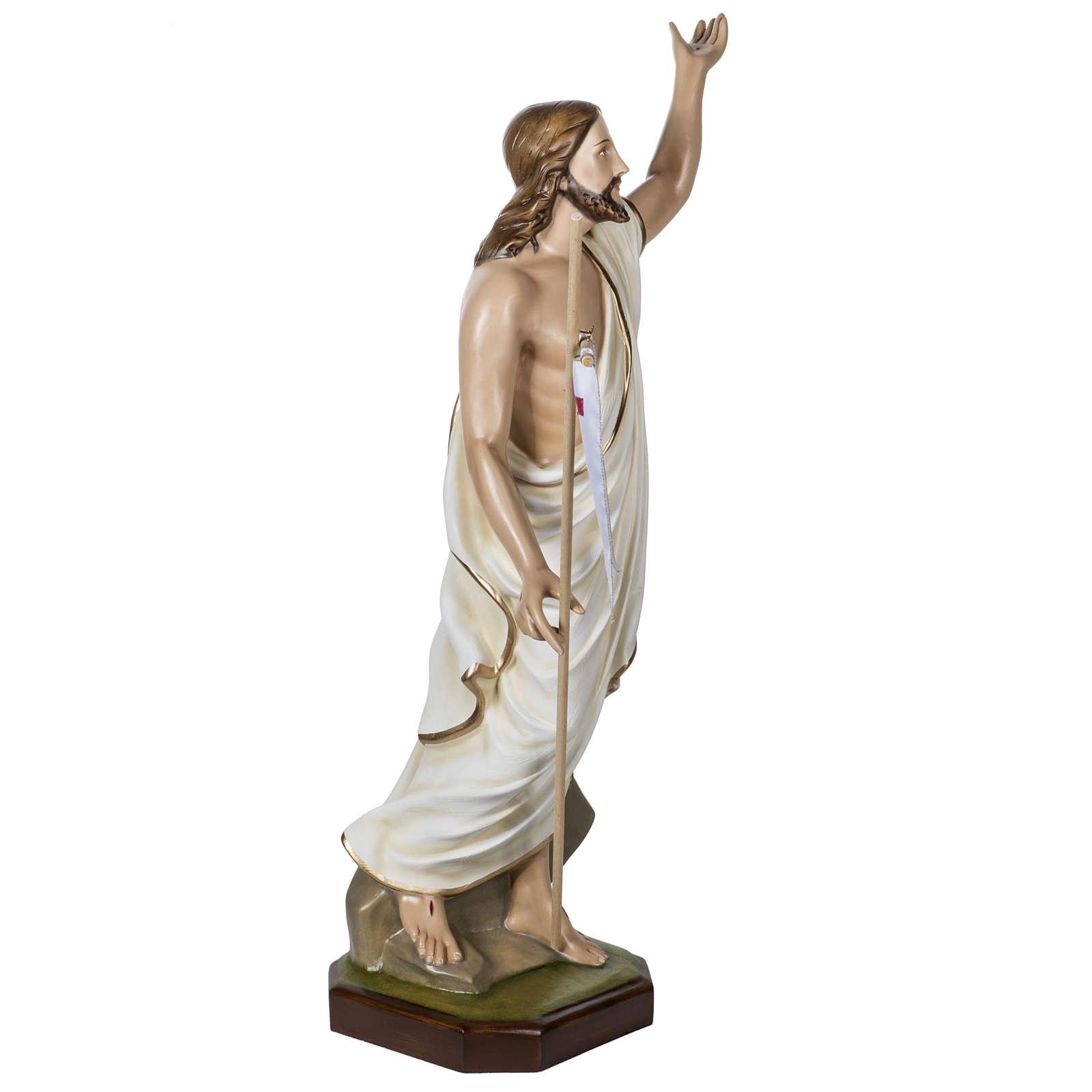 Christ ressuscité fibre de verre 100 cm 4