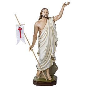 Christ ressuscité fibre de verre 100 cm s1
