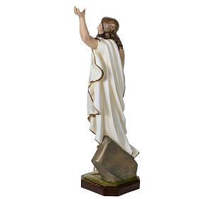 Christ ressuscité fibre de verre 100 cm s7
