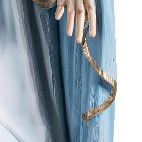 Immaculate statue in fiberglass, 100 cm s10