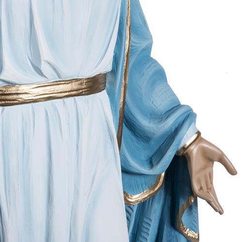 Immaculate statue in fiberglass, 100 cm 8