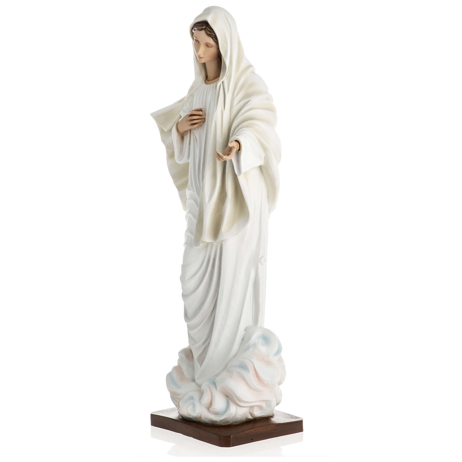 60 cm Our Lady of Medjugorje statue in fibreglass special finish 4
