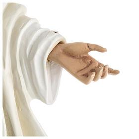 Nuestra Señora de Medjugorje estatua fibra de vidrio 60 cm. s3