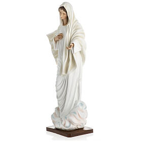 Nuestra Señora de Medjugorje estatua fibra de vidrio 60 cm. s5